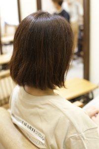 髪質改善ストレート(縮毛矯正)のbefore2