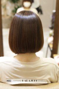髪質改善ストレート(縮毛矯正)のAfter_金町の美容院オーファ