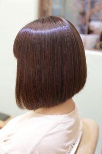 髪質改善ストレートエステをしたボブ・北千住、綾瀬、亀有、金町、松戸、、馬橋、柏、我孫子で髪質改善するなら髪質改善専門店オーファで