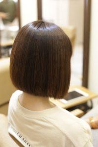 髪質改善ストレート(縮毛矯正)のAfter2_金町の美容院オーファ