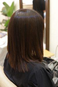 髪質改善ストレート(縮毛矯正)&カラー-金町オーファ