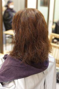髪質改善ストレートエステ(縮毛矯正)をかける前の状態ー髪質改善専門店オーファ
