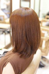 髪質改善ストレートエステ(縮毛矯正)をした後の髪|金町の髪質改善専門店オーファ