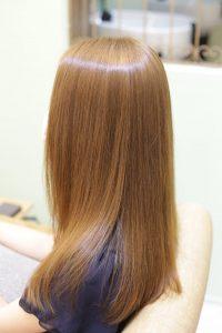 髪質改善ストレート(縮毛矯正)&カラーエステトリートメント-金町の美容院オーファ