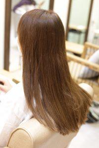 髪質改善トリートメントエステする前の状態|金町の髪質改善専門店オーファ