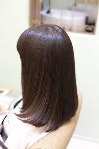 髪質改善トリートメントエステでツヤとまとまりが良くなったお客様ー北千住・亀有・松戸・柏・我孫子