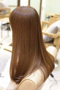 髪質改善トリートメントエステをした髪|葛飾区金町の髪質改善専門店オーファ