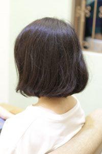 髪質改善する前のヘアスタイル
