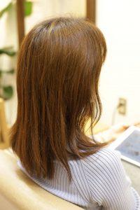 髪質改善カラーエステをする前の状態