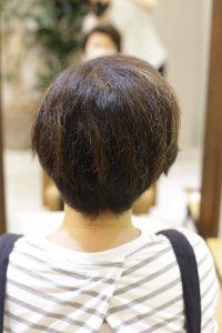 髪質改善ストレート(縮毛矯正)をする前の状態