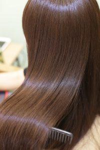 髪質改善カラーエステを施術した後の状態|金町の髪質改善専門店オーファ