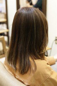 髪質改善カラーエステをする前の状態|金町の髪質改善専門店オーファ