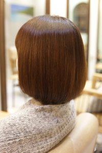 髪質改善ストレートエステ(縮毛矯正)をかけた後の状態|金町の髪質改善専門店オーファ