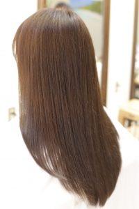 髪質改善カラーエステをした後の状態|金町の髪質改善専門店オーファ