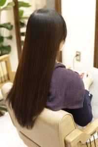 髪質改善カラーエステ+育毛促進スパの施術前の状態|金町の髪質改善専門店オーファ