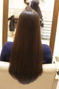 髪質改善カラーエステ+育毛促進スパをした後の状態|金町の髪質改善専門店オーファ