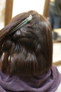 髪質改善ストレートエステを施術する前の状態