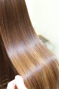 髪質改善ストレート&カラーエステの施術したあとの状態|亀有・綾瀬・金町の髪質改善専門店オーファ