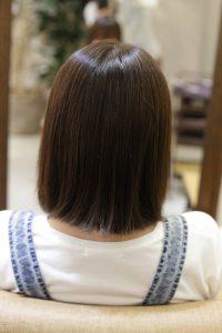 白髪染め対応の髪質改善カラーエステの施術前の状態|亀有・松戸・金町の髪質改善専門店オーファ