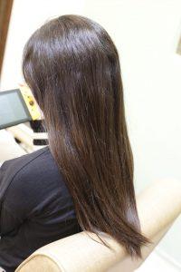 髪質改善ストレート(縮毛矯正)をかける前の状態|亀有・松戸・綾瀬・金町の髪質改善専門店オーファ