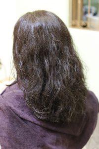 髪質改善(縮毛矯正)ストレートをかける前の状態|亀有・松戸・綾瀬・金町の髪質改善専門店オーファ