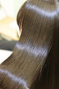 髪質改善(縮毛矯正)ストレートをかけた後の状態|亀有・松戸・綾瀬・金町の髪質改善専門店オーファ