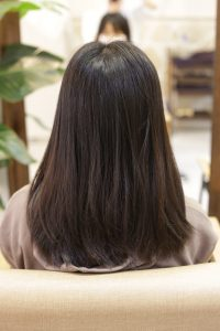 髪質改善ストレートエステ(縮毛矯正トリートメント)をする前の状態|亀有・松戸・綾瀬・金町の髪質改善専門店オーファ