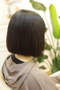 髪質改善ストレートエステ(縮毛矯正トリートメント)をした後の状態|亀有・松戸・綾瀬・金町の髪質改善専門店オーファ