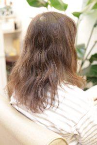 縮毛矯正=髪質改善ストレートをかける前の状態 亀有・金町・松戸の髪質改善専門店オーファ