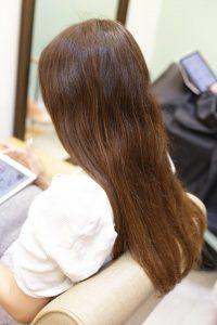 髪質改善ストレート(縮毛矯正)をかける前の状態|松戸・金町・亀有の髪質改善専門店オーファ