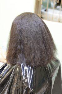髪質改善・高難易度縮毛矯正をかける前の状態 松戸・金町・亀有・綾瀬の髪質改善専門店オーファ