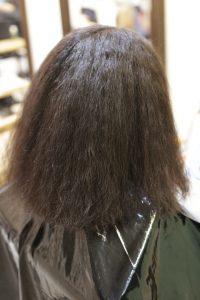 髪質改善・高難易度縮毛矯正をかける前の状態|松戸・金町・亀有・綾瀬の髪質改善専門店オーファ
