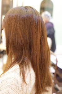髪質改善ストレートエステ+カット+高濃度炭酸泉の施術前の状態|松戸・金町・亀有の髪質改善専門店オーファ