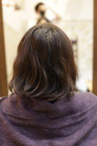 髪質改善ストレートエステ(縮毛矯正)を施術する前の状態|松戸・金町・亀有の髪質改善専門店オーファ