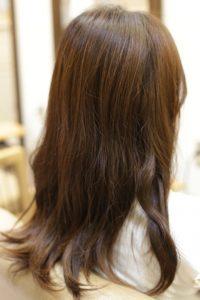 髪質改善カラーエステを施術する前の状態 松戸・金町・亀有の髪質改善専門店オーファ