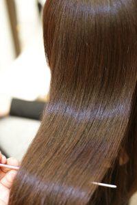 髪質改善カラーエステAfterー金町の美容院オーファ